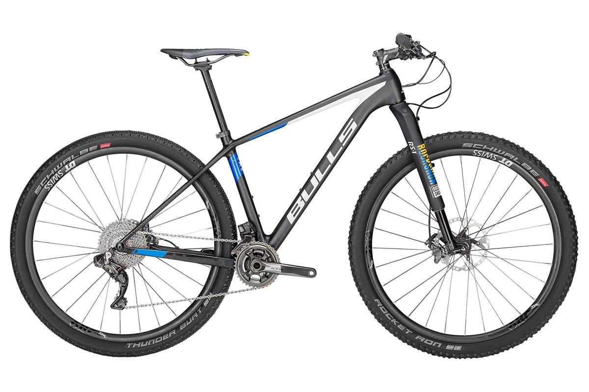 Test VTT Bulls Black Adder Team Di2 2018 : vélo XC Hardtail