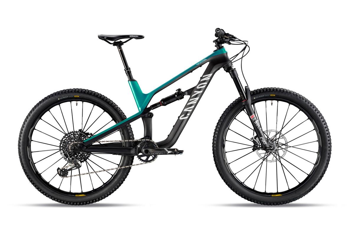 Test VTT Canyon Spectral CF 9.0 Pro 2018 : vélo All Mountain