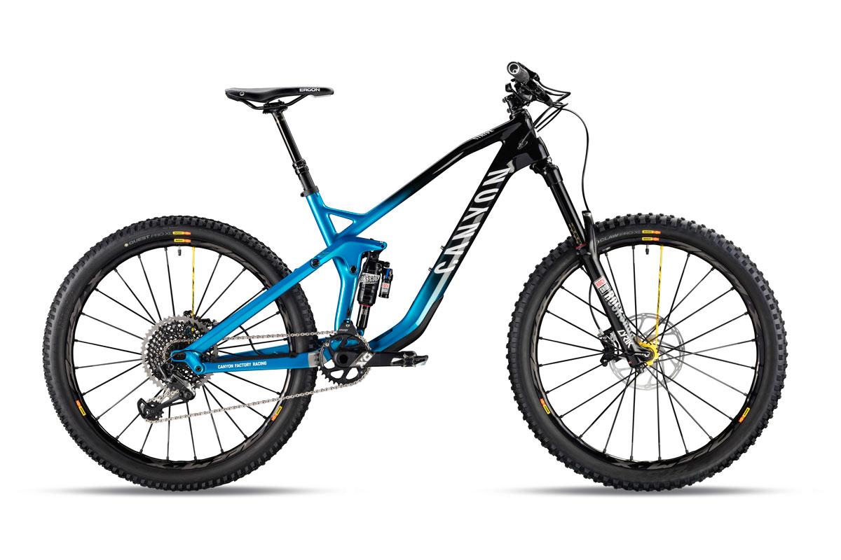 Test VTT Canyon Strive CF 9.0 Team 2018 : vélo Enduro