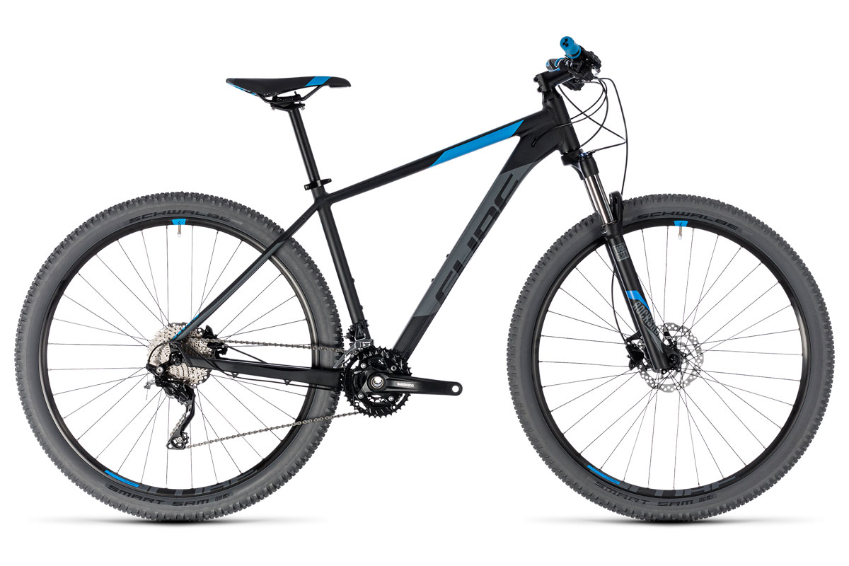 Test VTT Cube Attention 2018 : vélo XC Hardtail