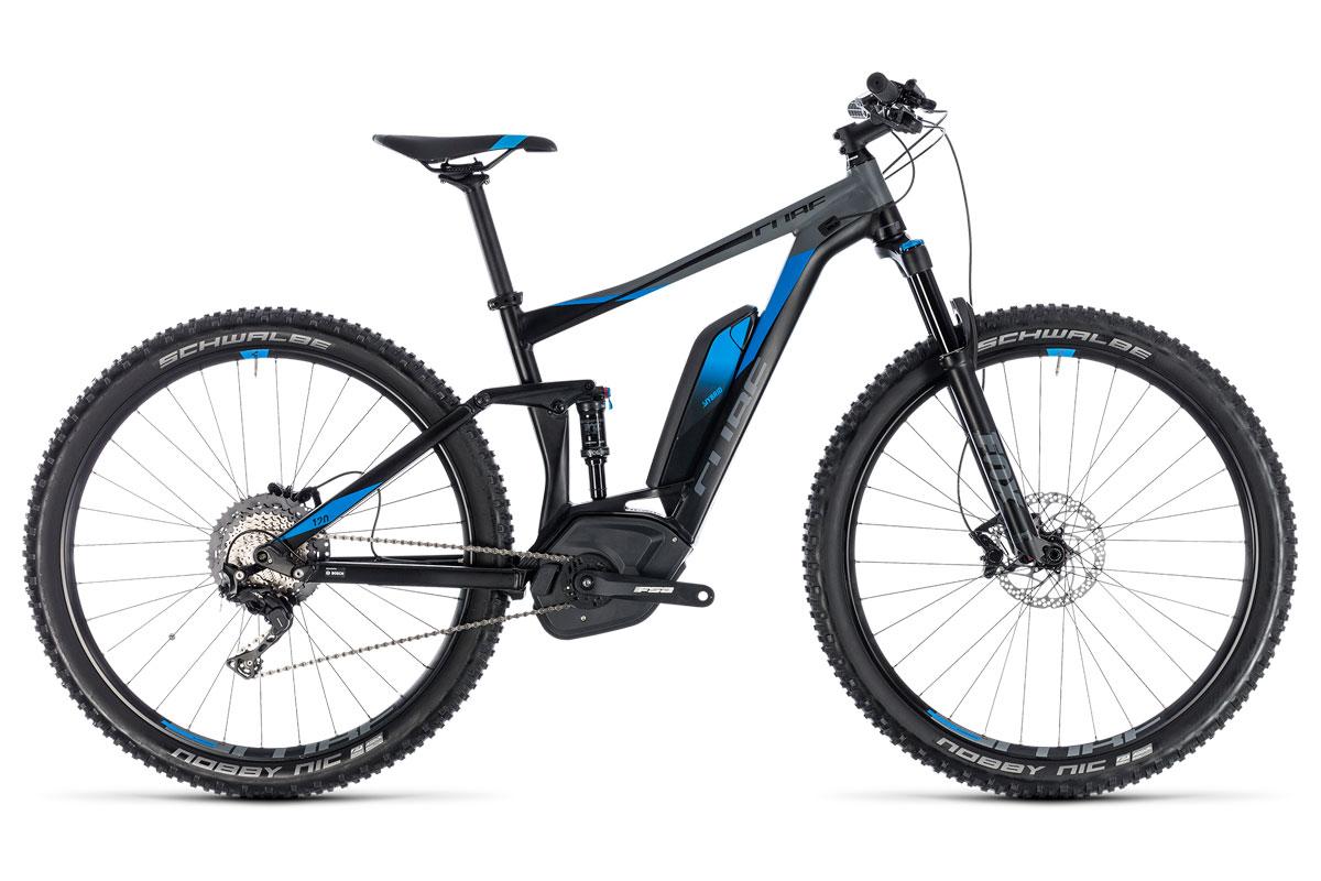 Test VTT Cube Stereo Hybrid 120 Exc 500 2018 : vélo All