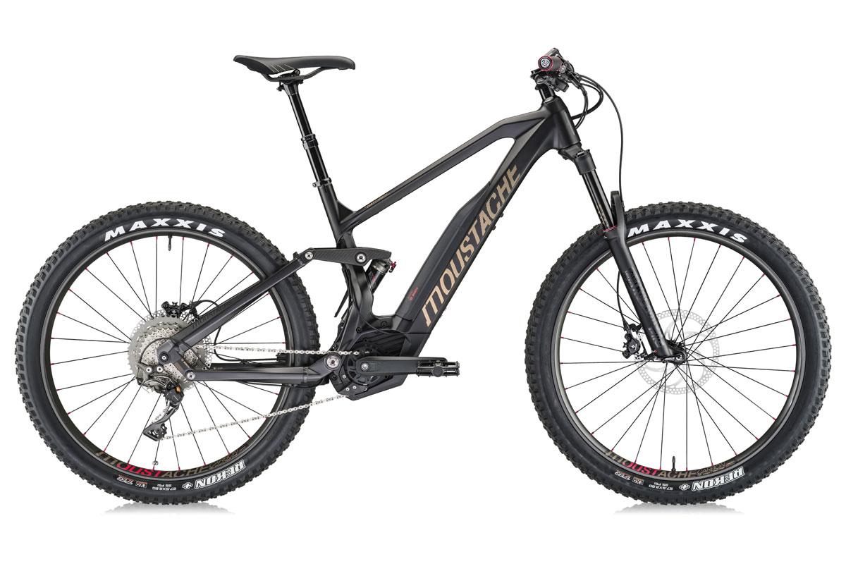 Test VTT Moustache Samedi 27 Trail 11 Carbon 2018 : vélo