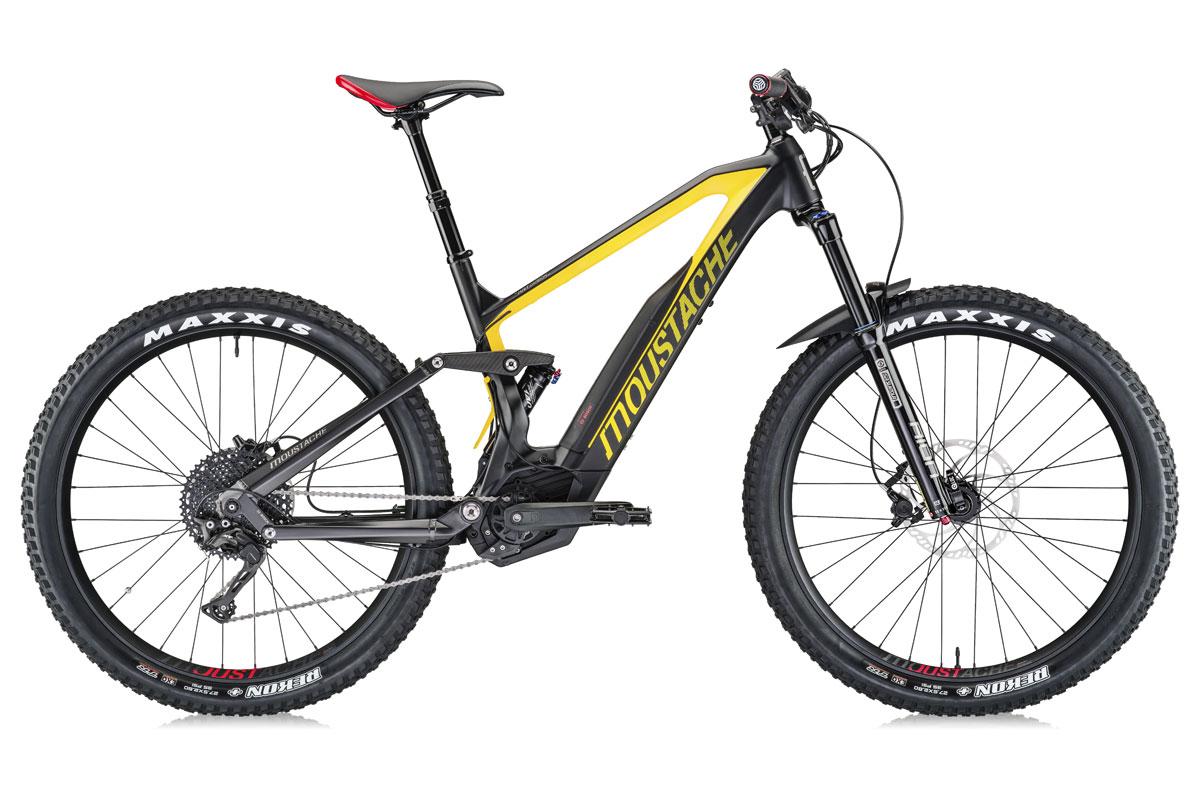 Test VTT Moustache Samedi 27 Trail 7 Carbon 2018 : vélo