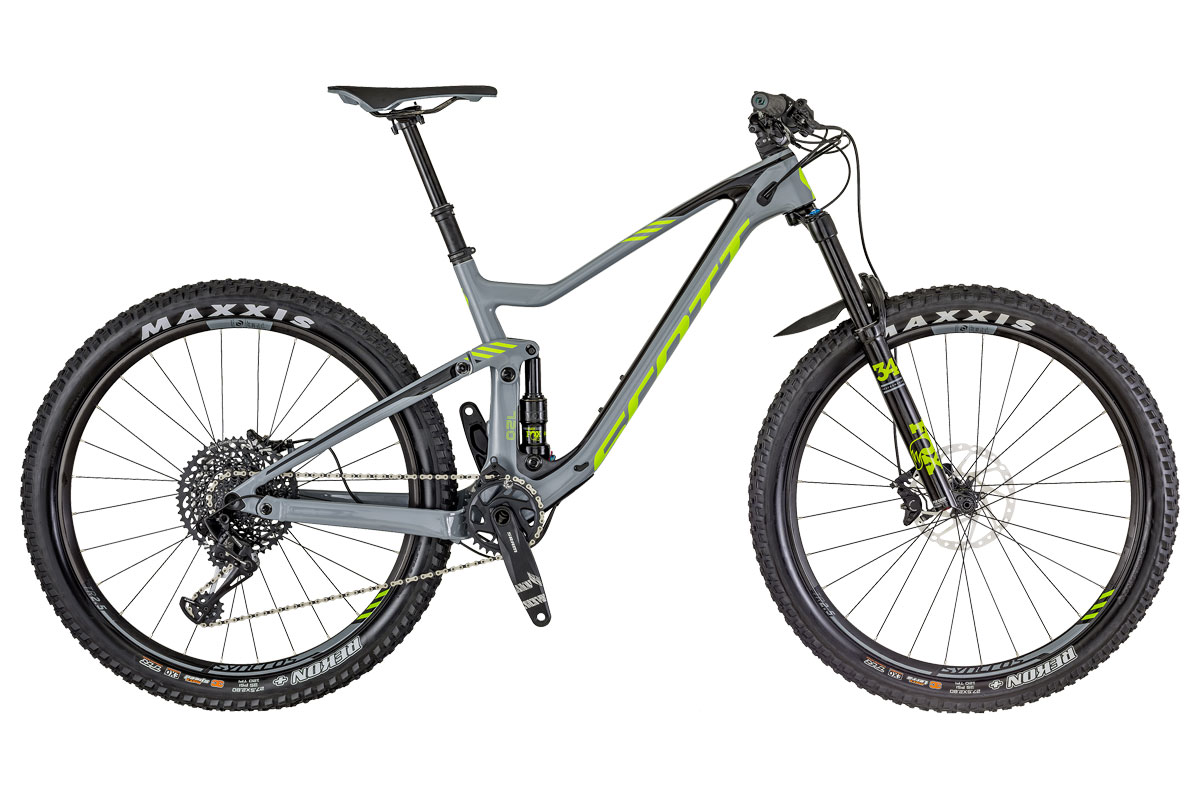 Test VTT Scott Genius 720 2018 : vélo All Mountain