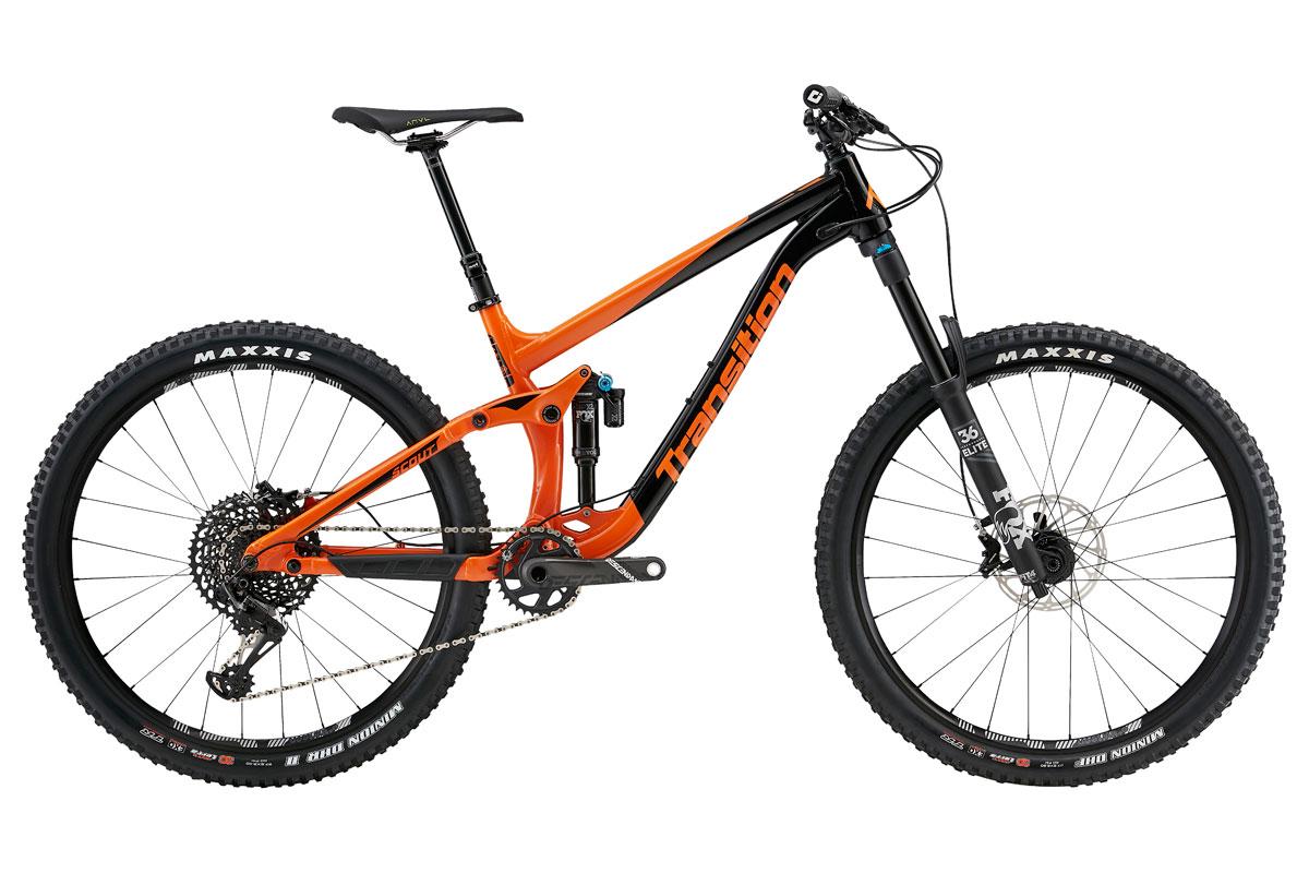 Test VTT Transition Scout XO1 2018 : vélo All Mountain