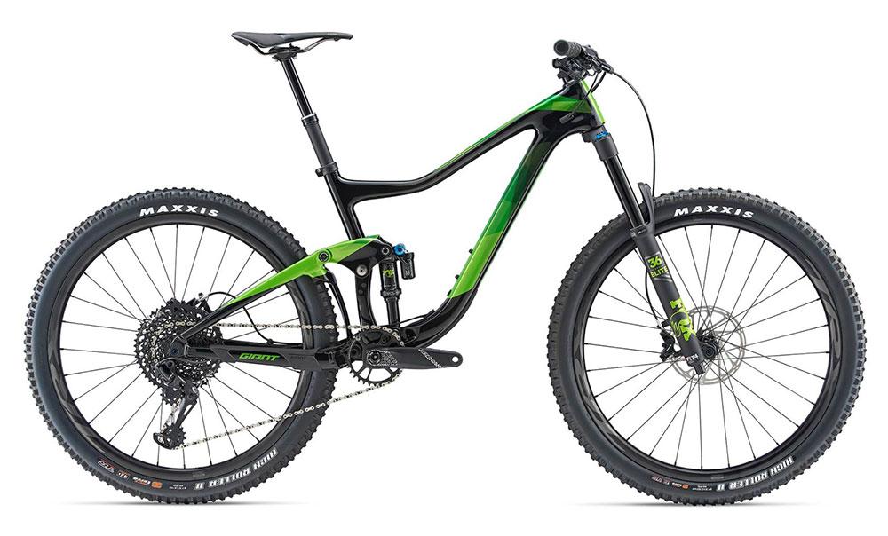 Test VTT Giant Trance Advanced 1 2019 : vélo Trail Bike