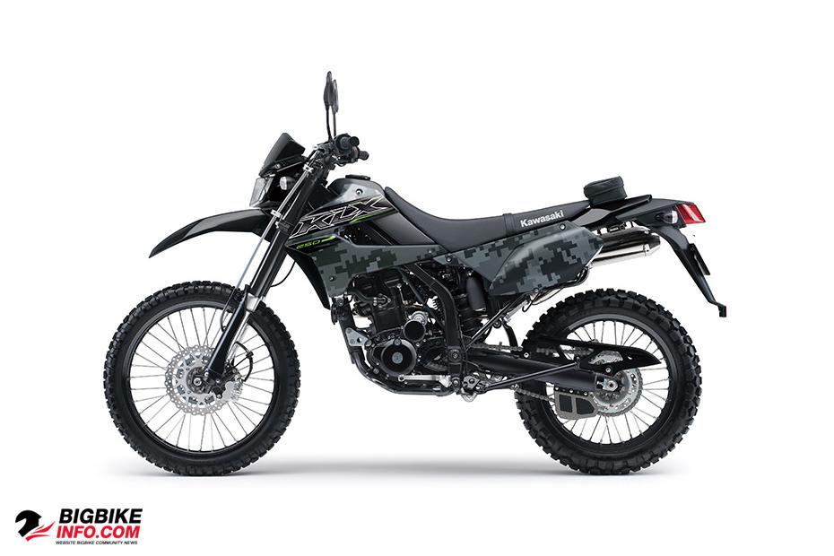 Kawasaki KLX 250 ข้อมูลสเปคราคาและตารางผ่อนดาวน์