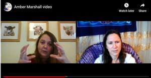 Birth Confidence Summit interview between Amber Marshall and Charlotte Kanyi