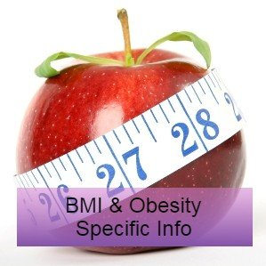 an apple with a meauring tape around - BMI & obesity research and guidelines