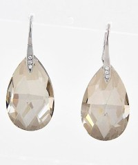 Kyle Richards Opening Credit Crystal Teardrop Earrings