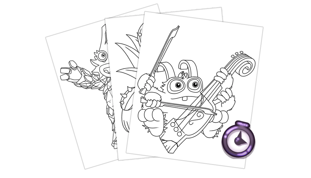 My Singing Monsters: Coloring Book Update 1.1