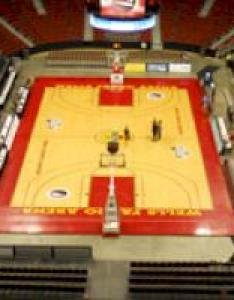 Click here for  list of other arenas also kentucky   wells fargo arena record rh bigbluehistory