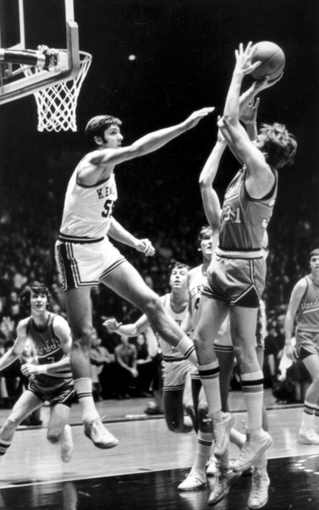 Vanderbilt At Kentucky February 3 1973