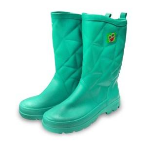 รองเท้าบู๊ทPVC A-1500 สีเขียวทะเล