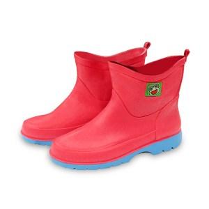 รองเท้าบู๊ทPVC B-2000 สีชมพู