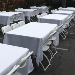 Tablecloths And Chair Covers For Rent Travelchair Big Bubba Linens Blue Sky Party Your Order Request