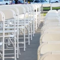Renting Folding Chairs Contemporary Dining Room Chair Rentals White Los Angeles Ca Big Blue Sky Party These