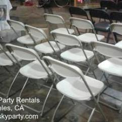 Folding Chairs For Rent Cheap Clear Acrylic Beige Chair Rental Samsonite Style Los Angeles These