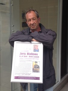 Chris Nickson at the Leeds Library