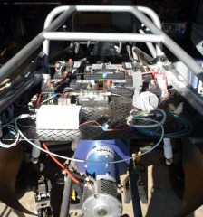 Wiring an electric dune buggy