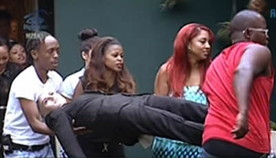 Big Brother Mzansi 2014 Housemates emergency task