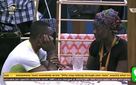 Big Brother Naija 2017 Day 5, Uriel Oputa and Kemen's Conversation