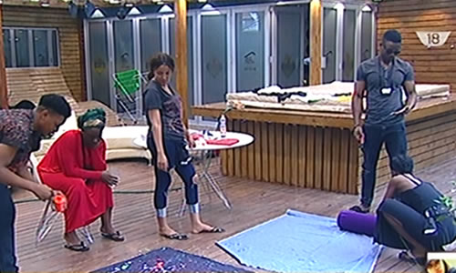 Big Brother Naija 2017 Day 26, Housemates Prepare For Tomorrow Night's Denim Party