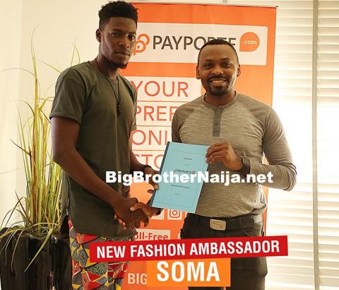 Somadina Anyama Becomes Payporte's Fashion Ambassador