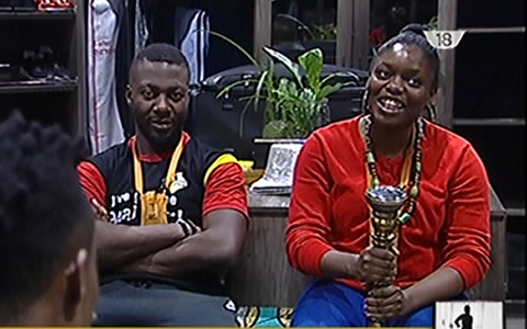 Bisola Wins Week 10 Head Of House Title