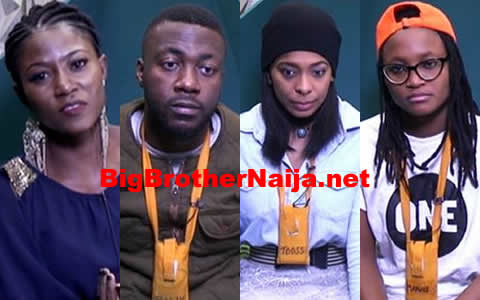 Big Brother Naija 2017 Week 10 Nominations, 4 Housemates Up For Possible Eviction