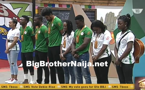 Big Brother Naija 2017 Housemates Fail To Impress Biggie In Their Week 8 Task Presentation
