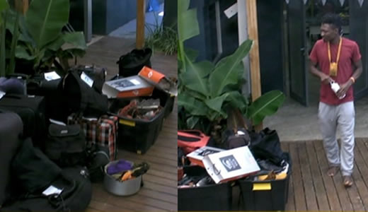 Day 70: Biggie Returns Big Brother Naija 2017 Housemates' Items