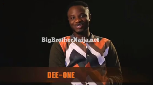 Dee-One 'Adedayo Adewunmi' Proifle On Big Brother Naija 2018
