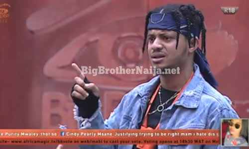 Day 18: Rico Swavey Slams Housemates For Wasting Food