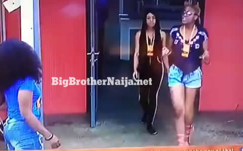 Alex and Cee-C Fight In The Big Brother Naija 2018 House