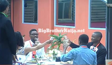 Big Brother Naija 2018 Heritage Bank Challenge Winners Enjoy A Three Course Meal