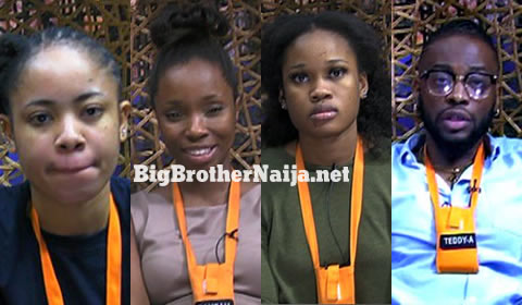 Big Brother Naija 2018 Week 9 Nominated Housemates