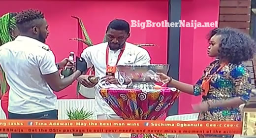 Big Brother Congratulates Big Brother Naija 2018 Finalists With Wine