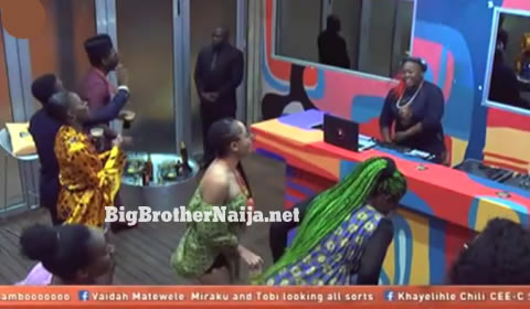 DJ Lambo's Mixes Big Brother Naija 2018 Week 11's Night Party