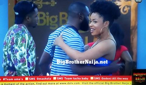 Enkay enters the Big Brother Naija house on Day 31