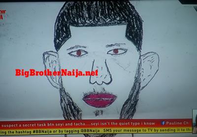 Frodd Portrait Painting Big Brother Naija 2019