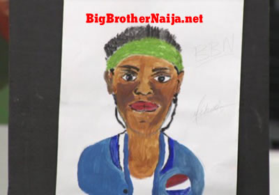 Jackye Portrait Painting Big Brother Naija 2019