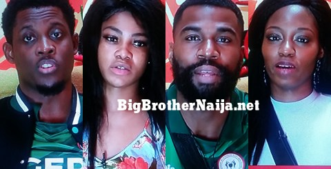Big Brother Naija 2019 Week 11 Nominated Housemates, Seyi, Tacha, Mike, Khafi