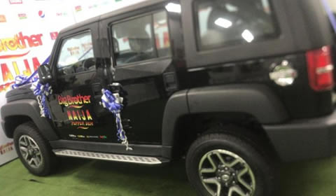 Big Brother Naija 2019 Mercy Eke's SUV Car Prize From Innoson Motors1