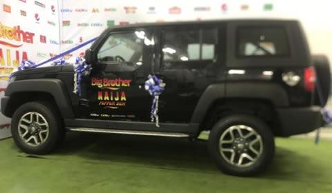 Big Brother Naija 2019 Mercy Eke's SUV Car Prize From Innoson Motors