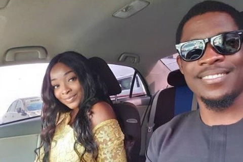Big Brother Naija 2019 housemates Seyi and his girlfriend Adeshola