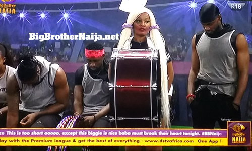 Lucy Essien week 2 Head of House after the housemates' circus performance