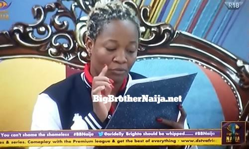 Big Brother Naija 2020 Week 3 wager challenge task brief