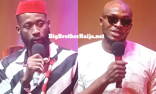 Eric and Tochi evicted from Big Brother Naija 2020 on day 21