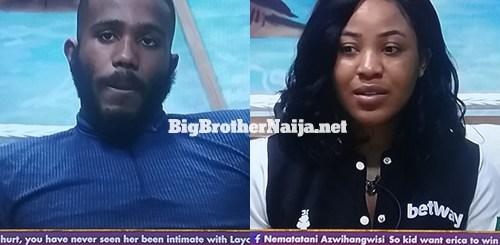 Big Brother Naija 2020 Housemates Kiddwaya and Eric punished for whispering